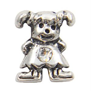 Picture of April Girl Birthstone Charm